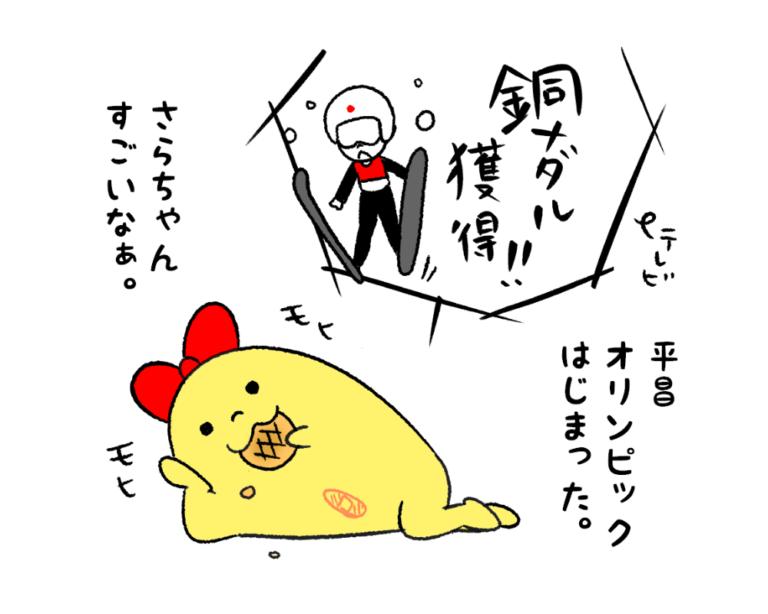 2018年平昌オリンピックたまこ-アイキャッチ